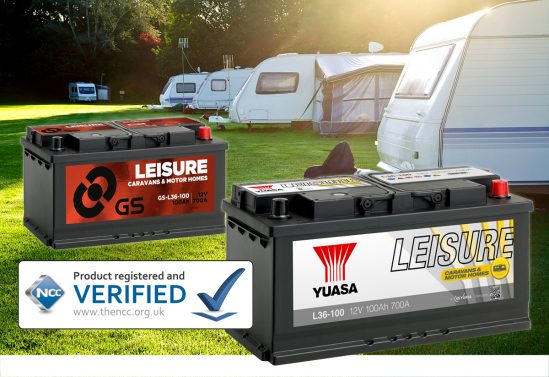 Yuasa and GS Leisure batteries given NCC approval