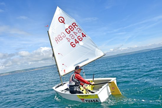Yuasa backed William Pank selected to represent  Team GB in Sailing World Championships