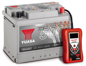 YUASA BATTERY SALES (UK) LTD ANNOUNCES COMPLETE AUTOMOTIVE BATTERY SOLUTION FOR MODERN CAR PARC