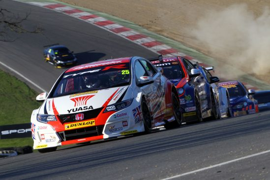 Flash and Matt storm to victory in BTCC season opener