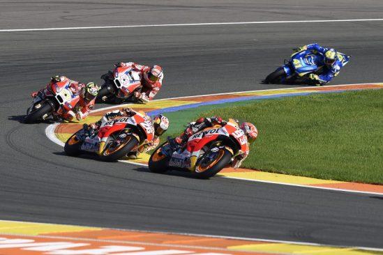 Repsol Honda's Marc Marquez & Dani Pedrosa finish MotoGP season finale in 2nd and 3rd - Yuasa