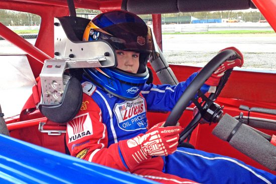 12-year-old Ministox driver Albert Carter all set for 2016 with Yuasa
