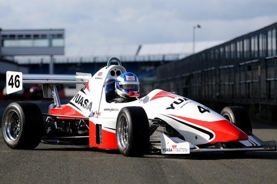 Yuasa unveils stunning new car livery for Jedi racer Bradley Hobday