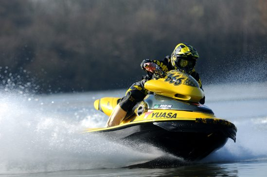 Jet-ski ace Carl Catlin set to make waves with Yuasa