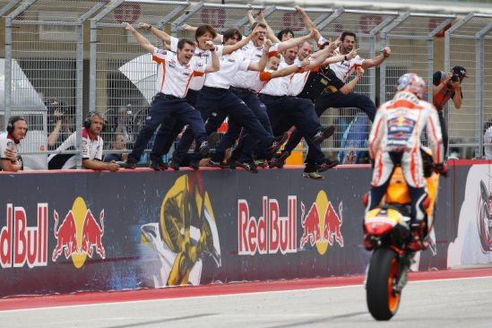 Marquez takes impressive win in America as Pedrosa crashes out battling for the podium