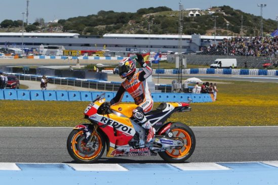 Positive podium for Marquez at Jerez, fourth place for Pedrosa
