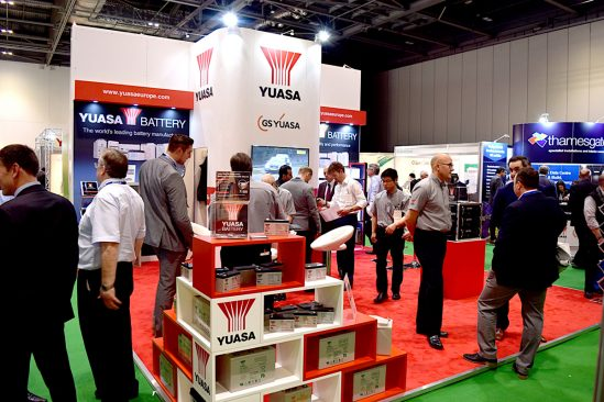 Yuasa puts on a performance at Data Centre World 2016