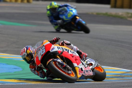 Pedrosa fourth at Le Mans, Marquez recovers from crash to score points