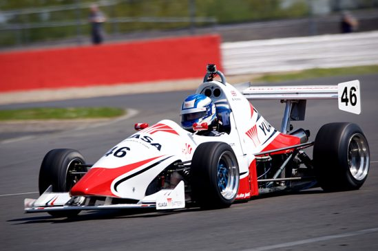 Two top ten finishes for Yuasa Jedi racer Bradley Hobday at Silverstone