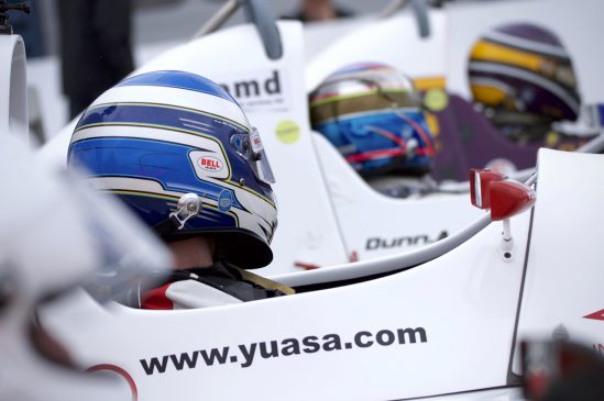Yuasa Formula Jedi racer Bradley Hobday pictured at Rockingham