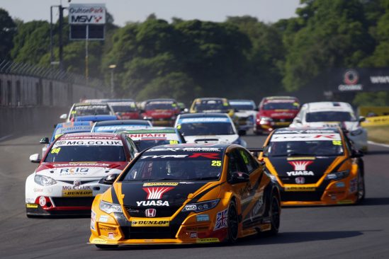 A walk in the park for Neal as he takes his second BTCC  victory of 2016