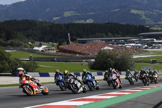 Marquez scores precious points in Austria, Pedrosa improves his speed