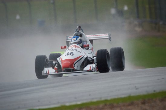 Strong performance for Bradley Hobday at a very wet Donington Park
