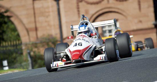 Yuasa Formula Jedi driver Bradley Hobday at Oulton Park