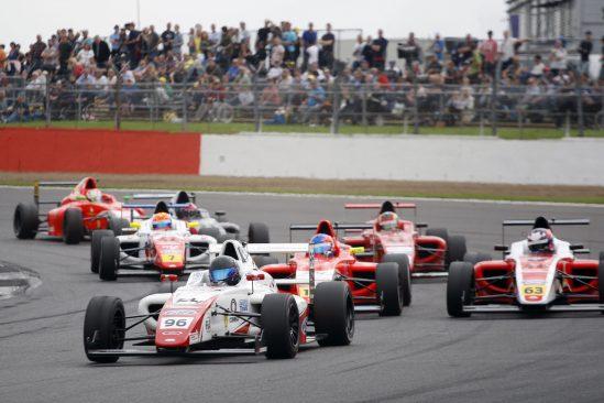 Yuasa Formula 4 driver Jack Butel. Silverstone 2016