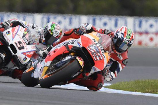 Yuasa Sponsored Repsol Honda MotoGP team. MotoGP Australia 2016