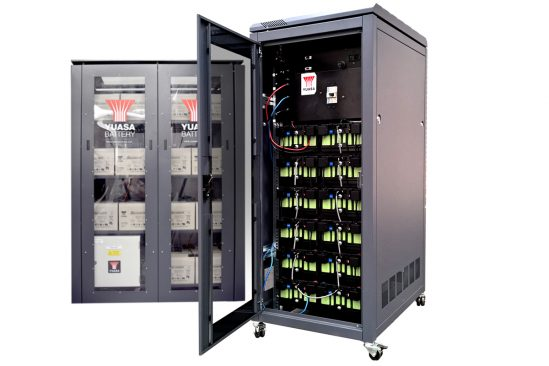 Yuasa Lithium Energy Storage Cabinet