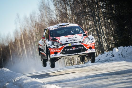 Yuasa backed Team Kasing end their winter rally season in style
