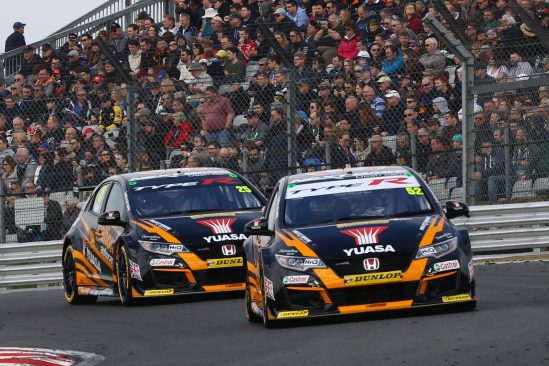 Brands Hatch brilliance from Shedden as Halfords Yuasa Racing pick up from where they left off