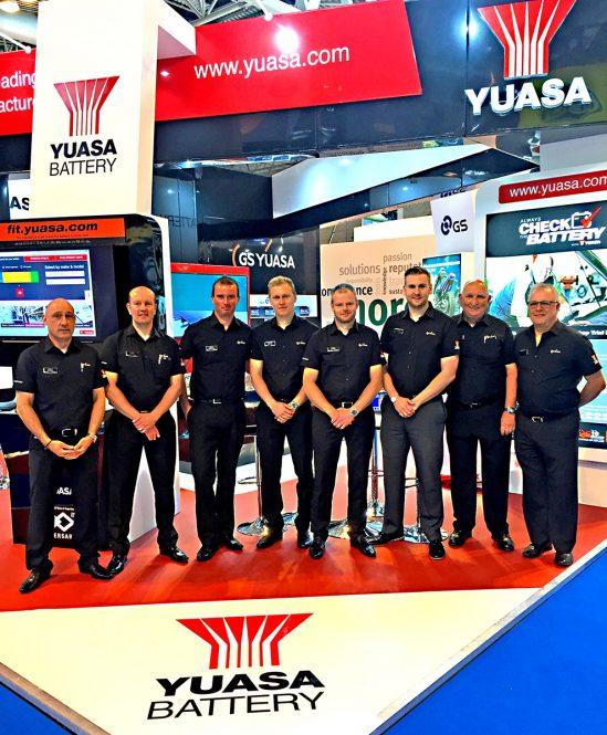 GS Yuasa's Automechanika Birmingham debut a resounding success