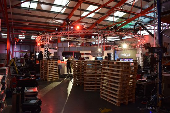 GS Yuasa hosts The Hour, a brand-new BBC One Wales debate show, at Ebbw Vale Factory