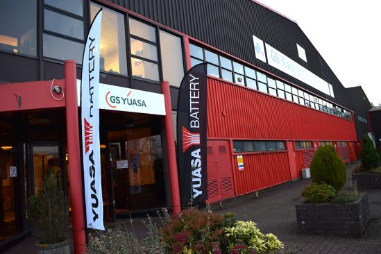 GS Yuasa in Ebbw Vale hosts BBC One Wales debate show The Hour