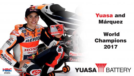 Yuasa and Marquez champions