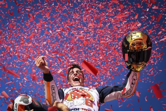 Yuasa celebrate magnificent Marquez's fourth MotoGP World Championship win