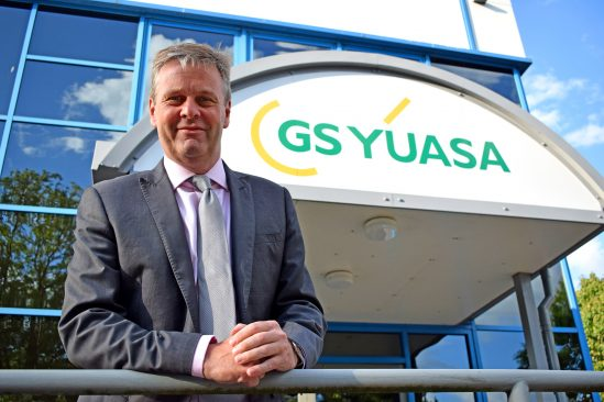 GS Yuasa Battery Europe appoints new Managing Director & CEO