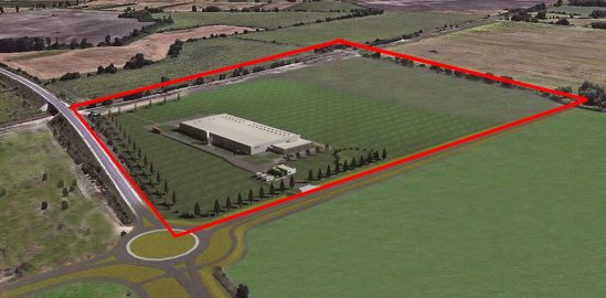 GS Yuasa Lithium Factory land size