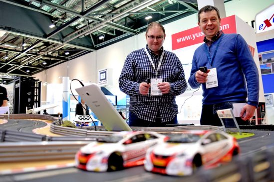 Yuasa BTCC Scalextric be displayed at Data Centre World