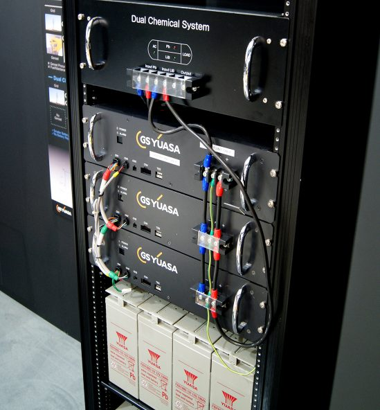 Yuasa Dual Chemical Battery System set for UK debut at Data Centre World
