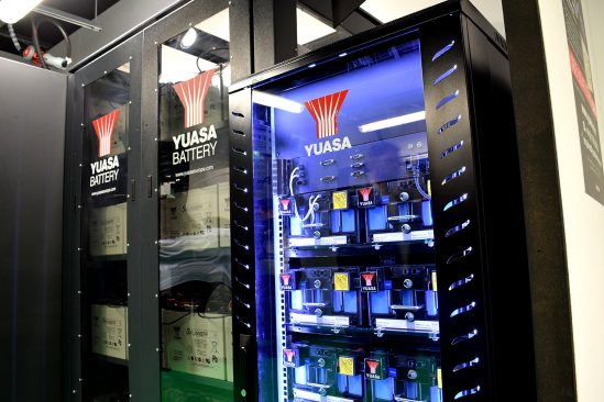Yuasa Lithium-ion cabinet will be displayed at Data Centre World