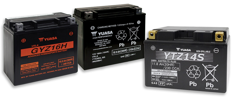 Yuasa Motorcycle battery group