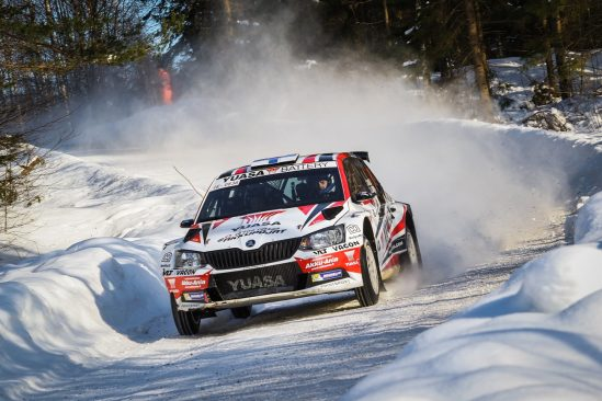 Winter-season's best performance for Yuasa sponsored Rally Team Kasing in Itäralli