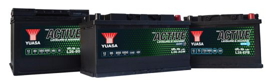 Yuasa have launched the new YBX Active range for Leisure, Marine, Specialist and Garden applications.