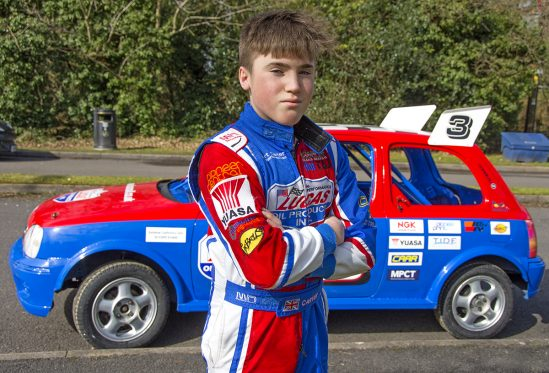 Yuasa continues sponsorship of 14-year-old rising motorsport star and son of drag racing legend, Albert Carter