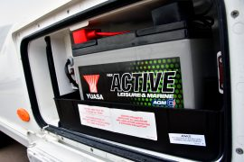 Yuasa Active Battery in caravan locker