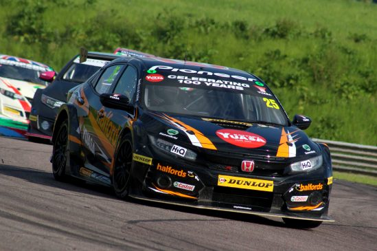 Matt Neal claims first BTCC win of 2018 with special Yuasa 100th anniversary livery
