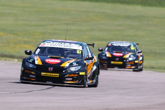 Dan Cammish leads Matt Neal