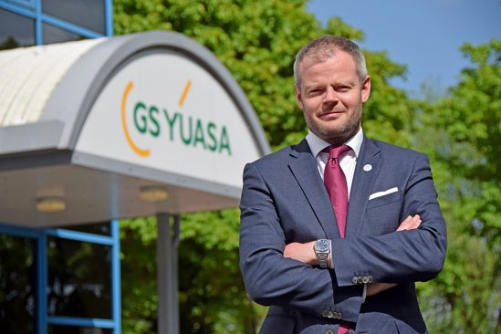 GS Yuasa Battery Sales UK Ltd announce James Hylton as Managing Director