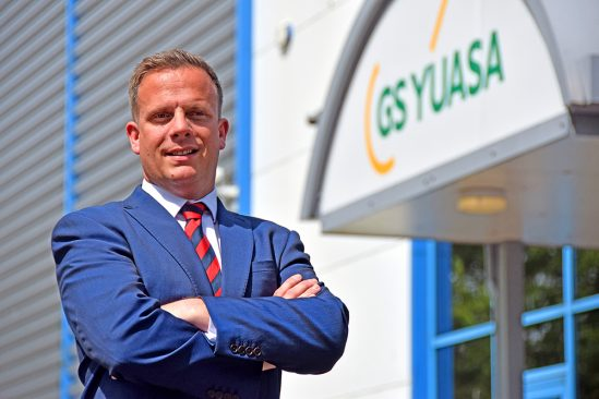 GS Yuasa Battery Sales UK Ltd welcomes new General Manager – Sales and Marketing