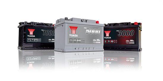New Yuasa YBX battery range