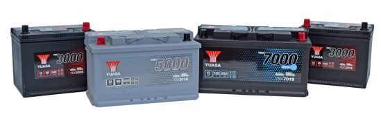 Yuasa adds new battery types to Original Equipment YBX automotive range