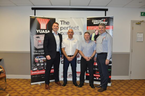 Yuasa reflect on another positive year of professional customer training