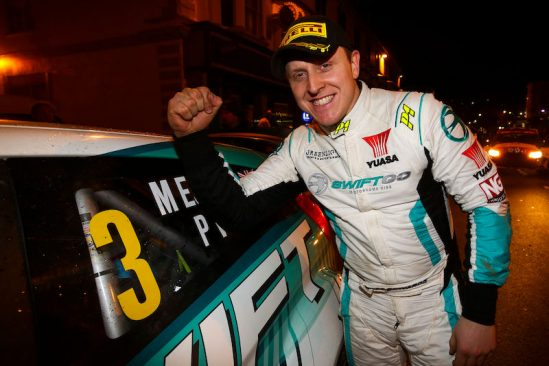 Rally driver Matt Edwards marks the start of his partnership with Yuasa with stellar home win
