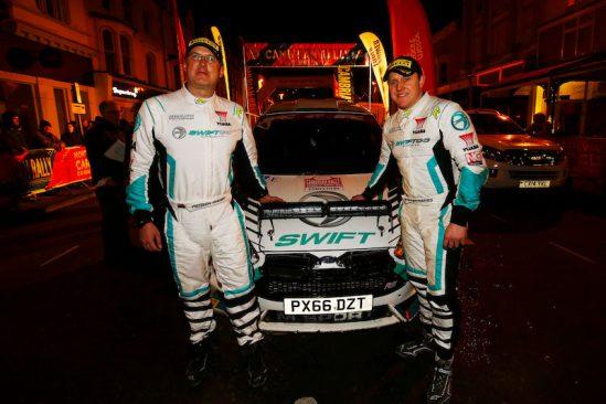Swift Rally Team win