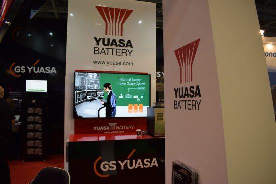 Yuasa Data Centre World Stand
