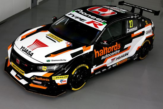 Yuasa hunt further BTCC success as striking new Halfords Yuasa Racing livery is revealed