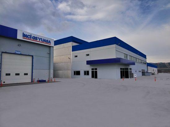 Inci GS Yuasa lead acid storage battery plant in Manisa, Turkey